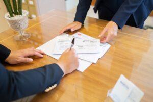 ricezione della posta al business cente